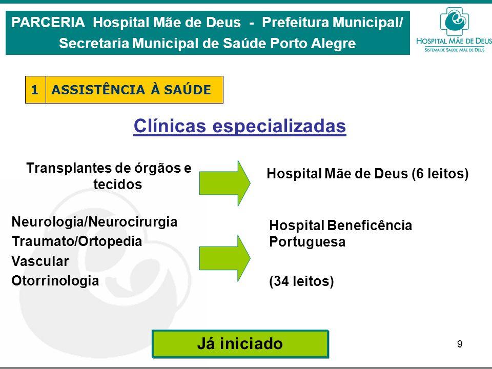 Clínicas especializadas