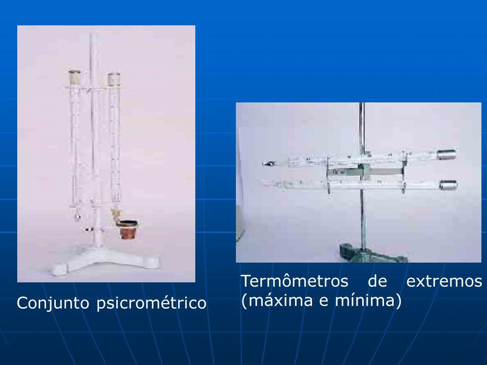 Termômetros de extremos (máxima e mínima)