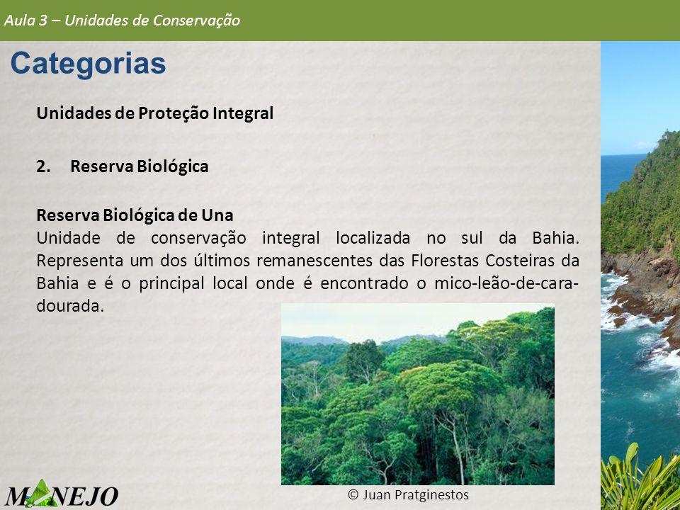 Categorias Unidades de Proteção Integral Reserva Biológica