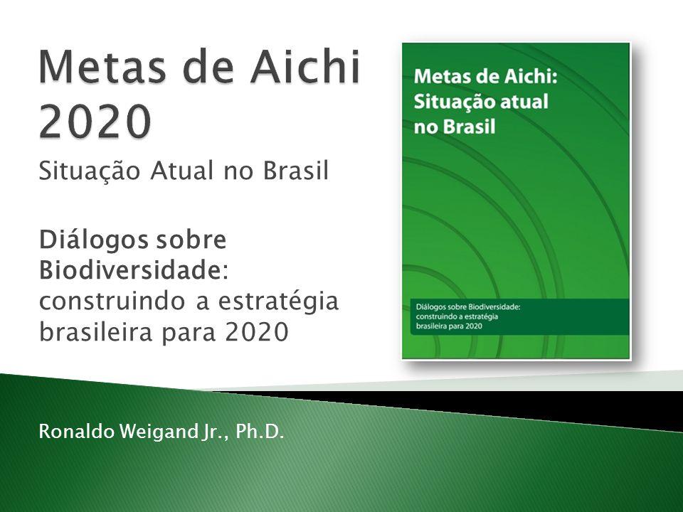 Metas de Aichi 2020 Situação Atual no Brasil