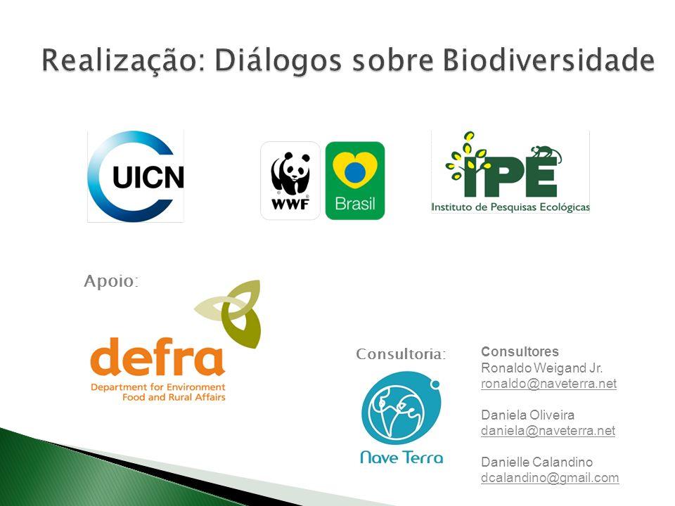 Realização: Diálogos sobre Biodiversidade