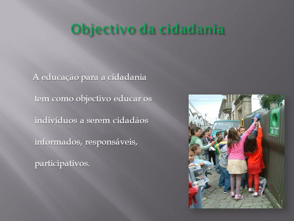 Objectivo da cidadania