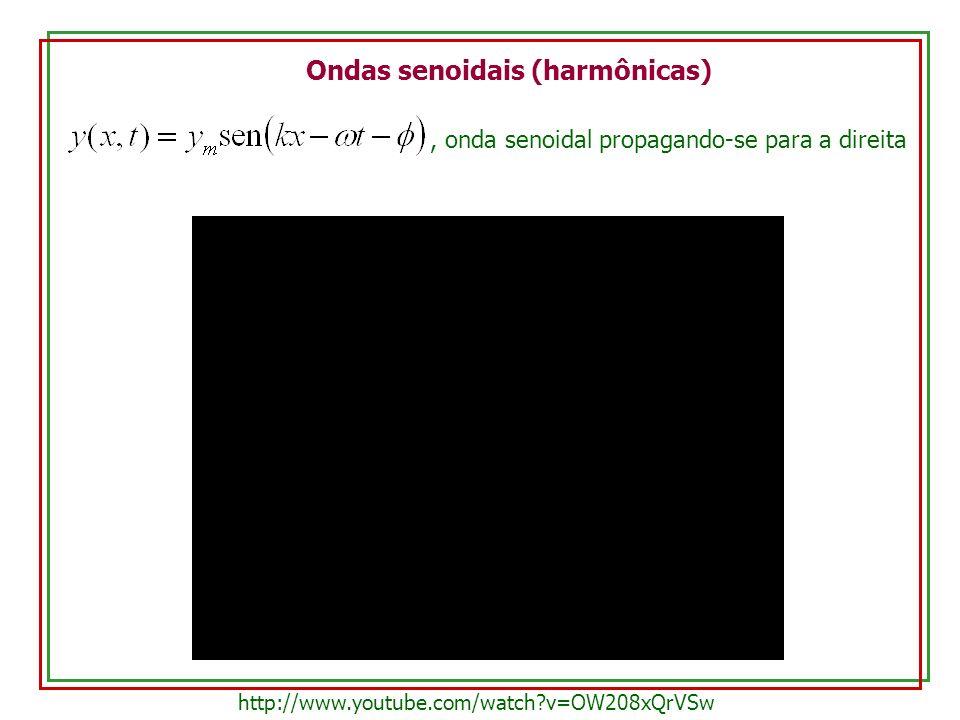Ondas senoidais (harmônicas)