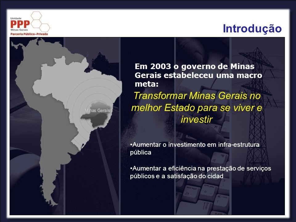 Transformar Minas Gerais no melhor Estado para se viver e investir