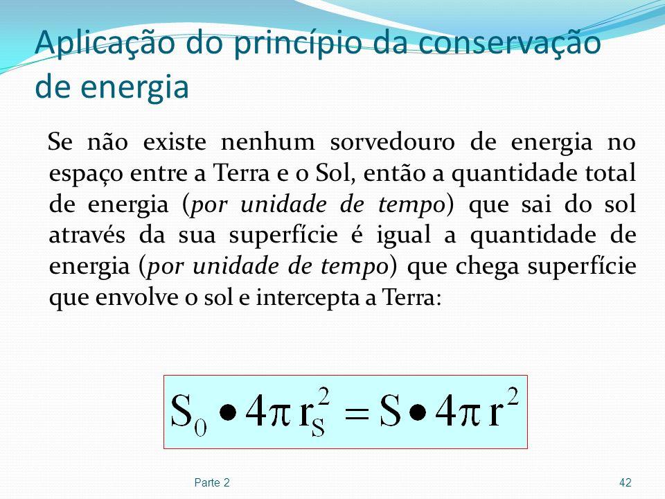 Aplicação do princípio da conservação de energia