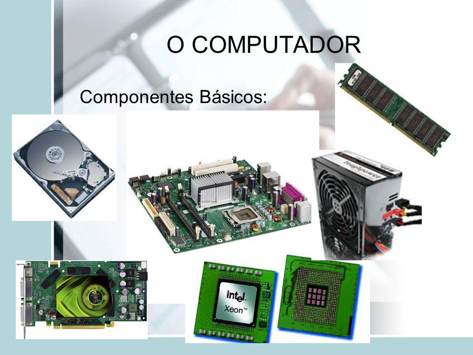 O COMPUTADOR Componentes Básicos: