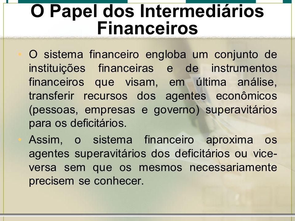 O Papel dos Intermediários Financeiros