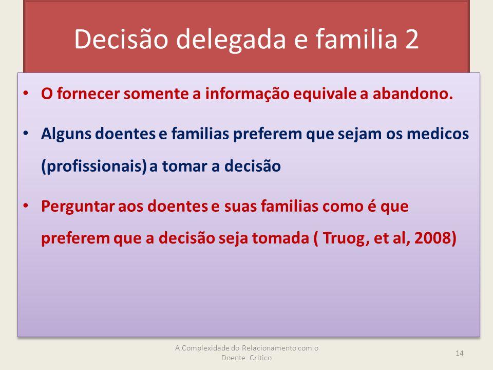 Decisão delegada e familia 2