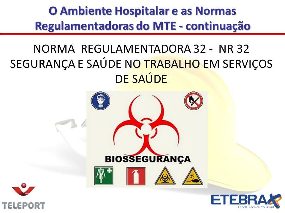 NORMA REGULAMENTADORA 32 - NR 32