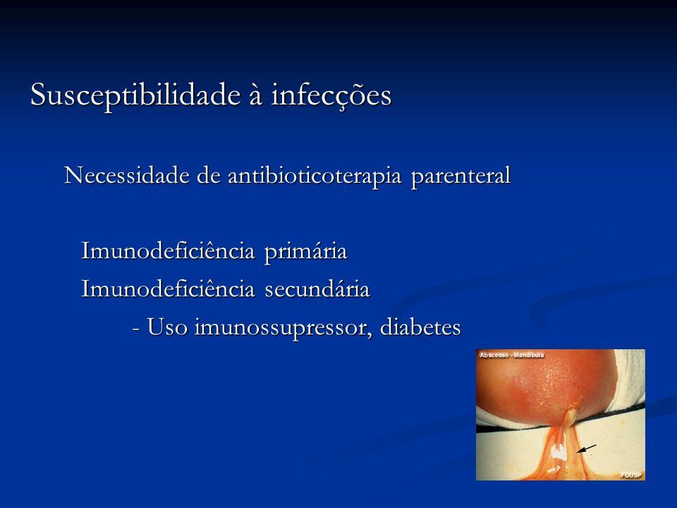 Susceptibilidade à infecções
