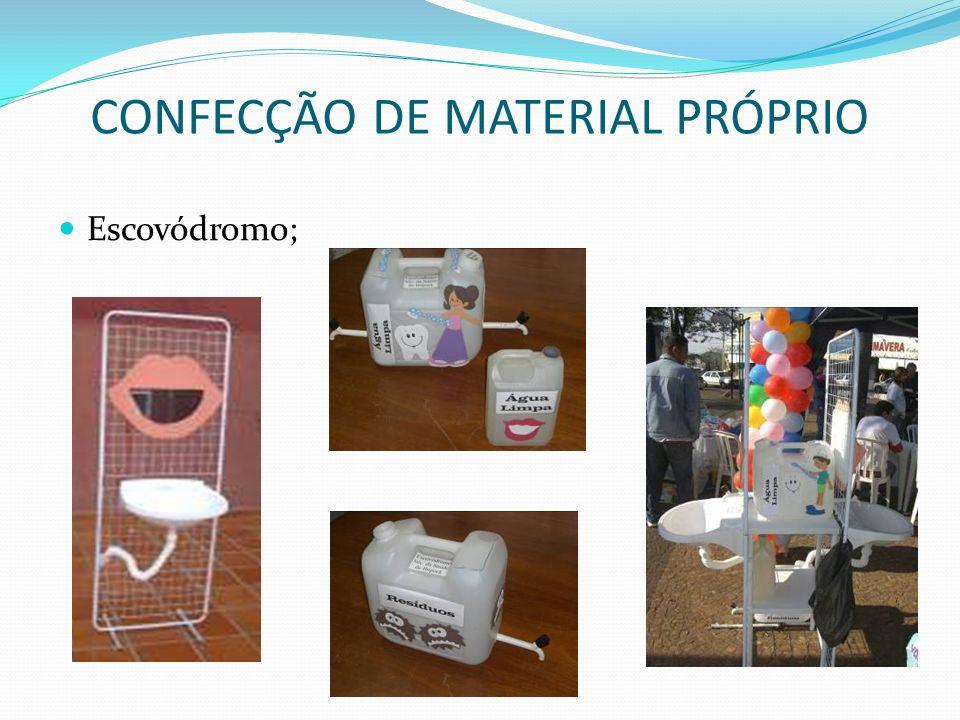 CONFECÇÃO DE MATERIAL PRÓPRIO