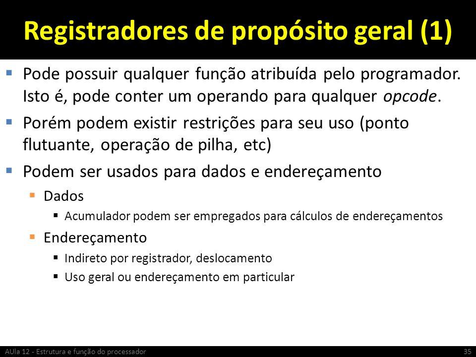 Registradores de propósito geral (1)