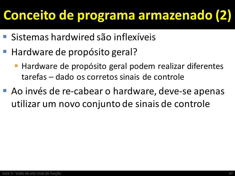 Conceito de programa armazenado (2)