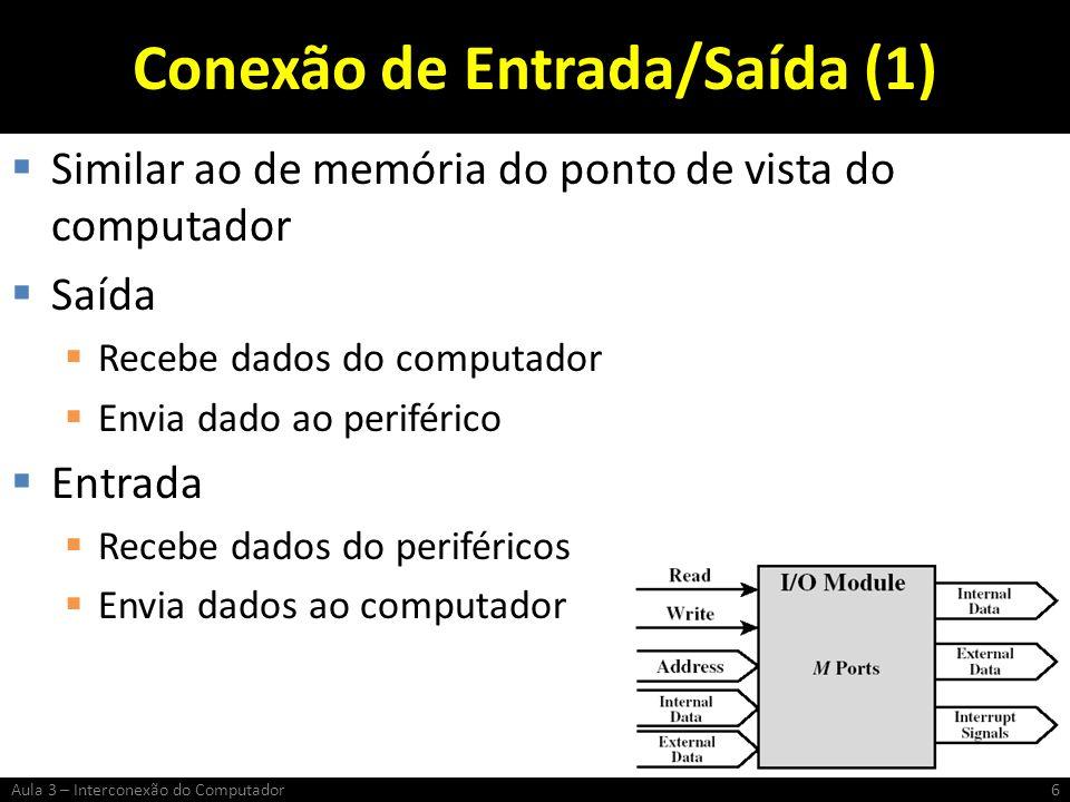 Conexão de Entrada/Saída (1)