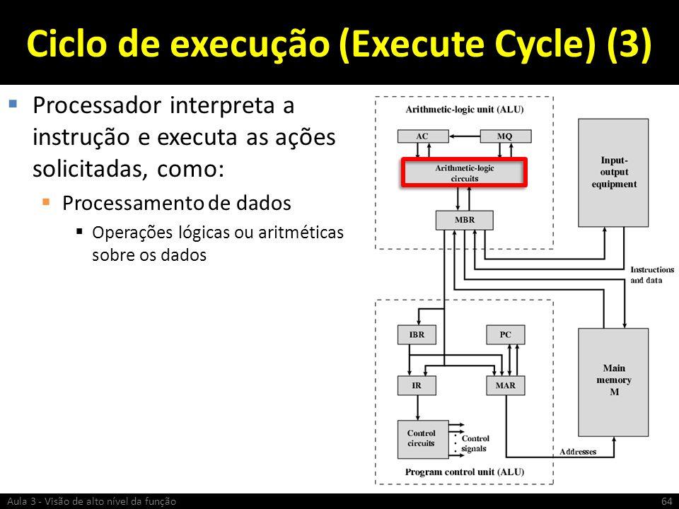 Ciclo de execução (Execute Cycle) (3)