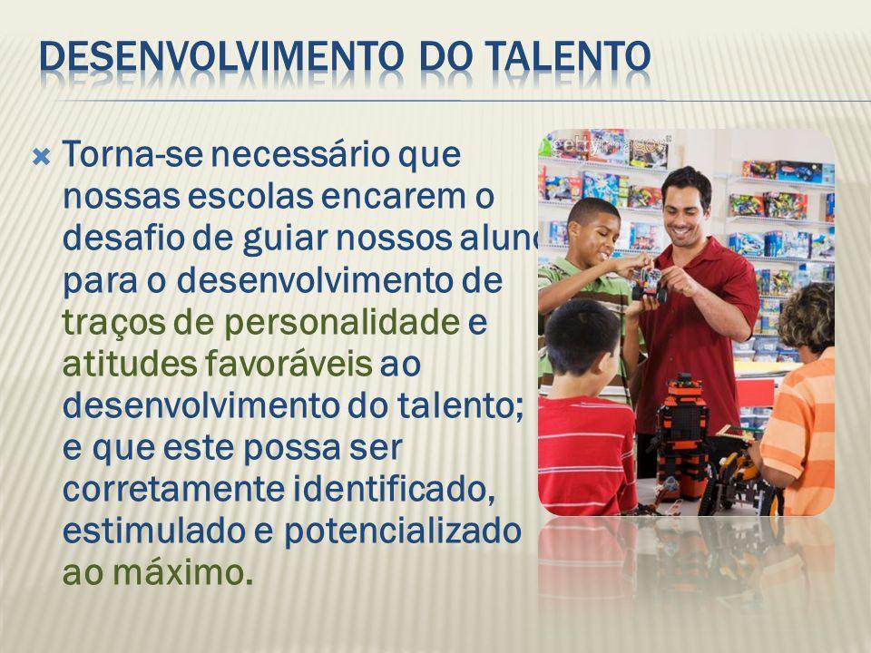 Desenvolvimento do talento