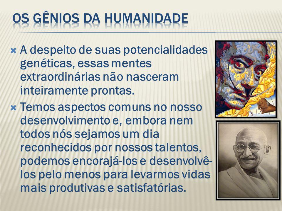 Os gênios da humanidade