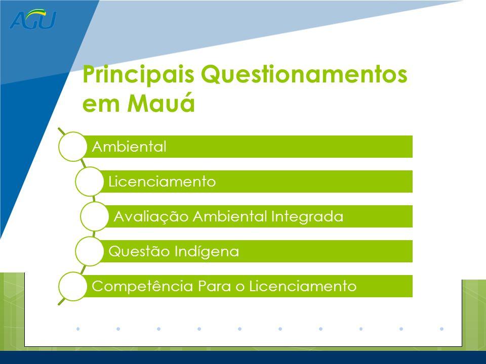 Principais Questionamentos em Mauá