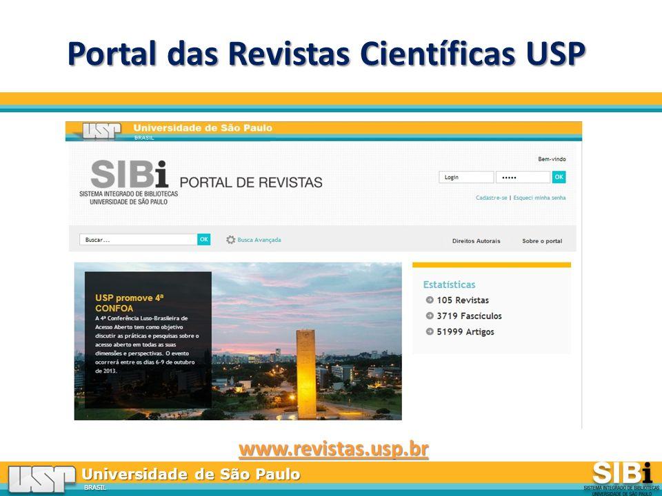 Portal das Revistas Científicas USP