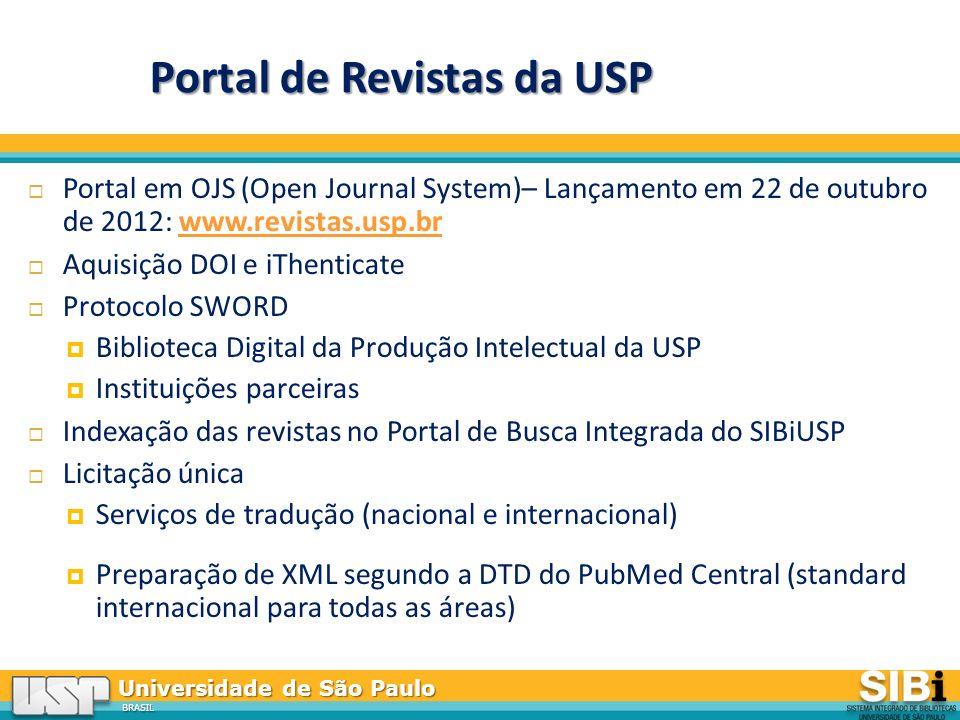Portal de Revistas da USP