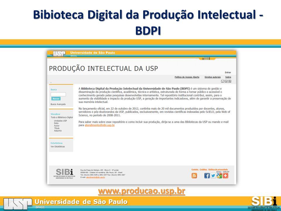 Bibioteca Digital da Produção Intelectual - BDPI
