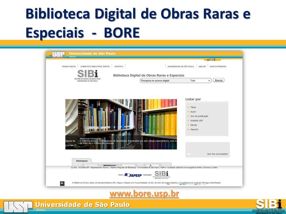 Biblioteca Digital de Obras Raras e Especiais - BORE