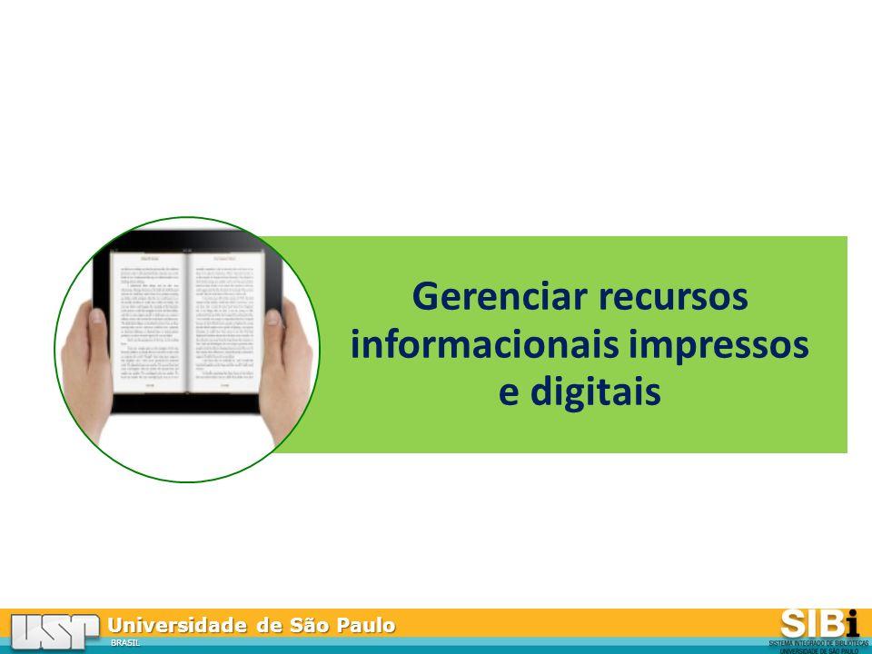 Gerenciar recursos informacionais impressos e digitais