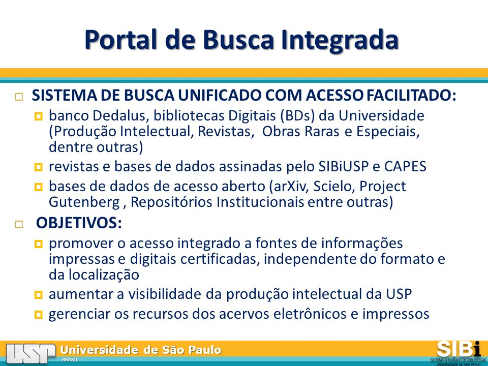 Portal de Busca Integrada