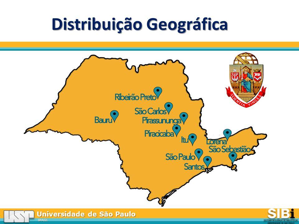 Distribuição Geográfica
