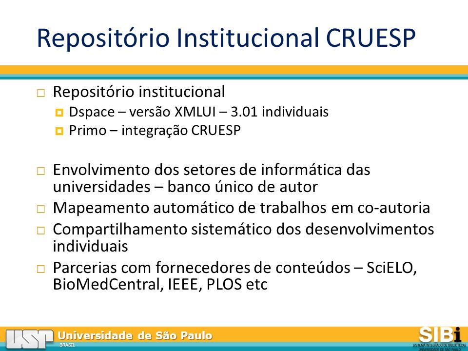 Repositório Institucional CRUESP