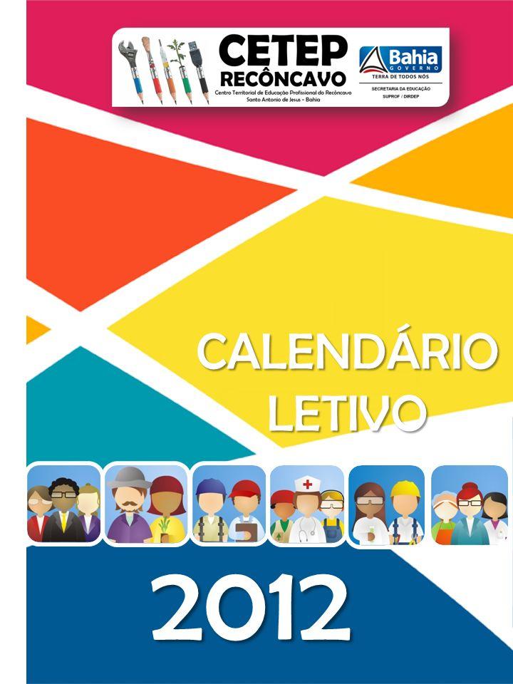 CALENDÁRIO LETIVO 2012