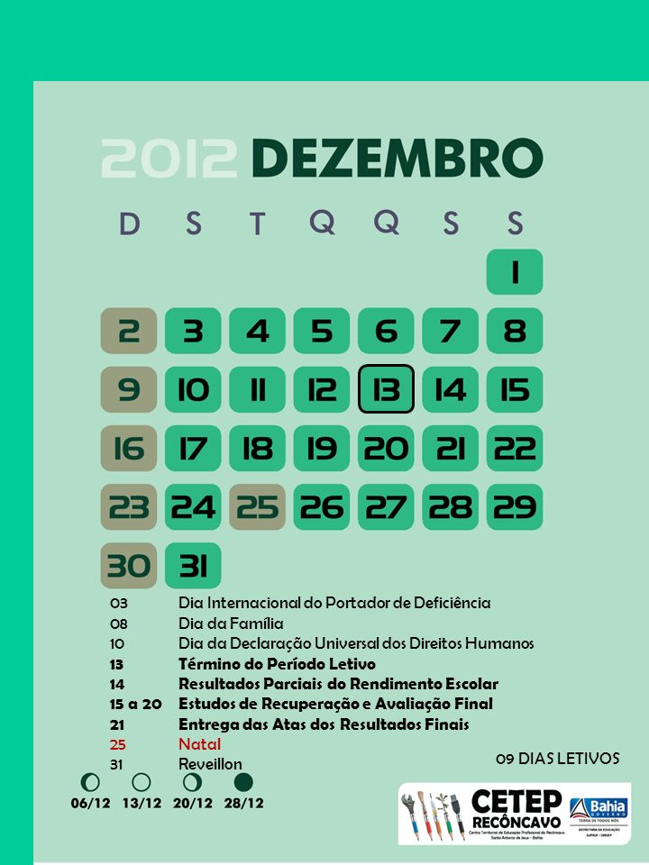 03 Dia Internacional do Portador de Deficiência