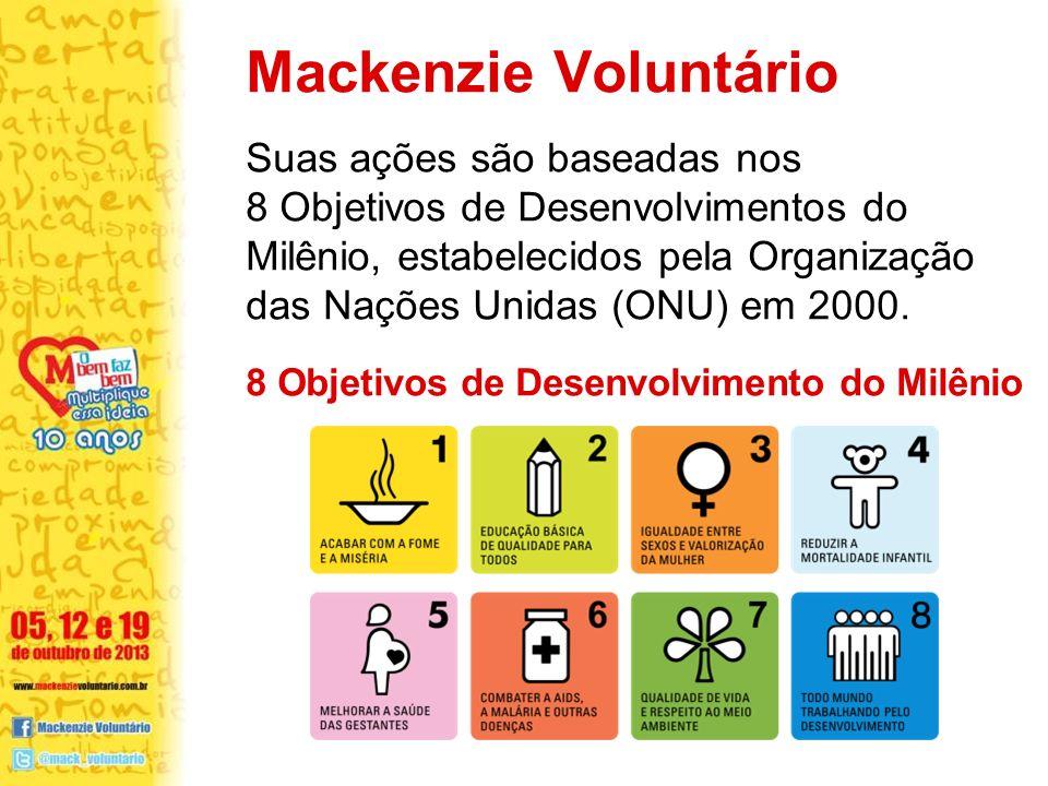 Mackenzie Voluntário Suas ações são baseadas nos