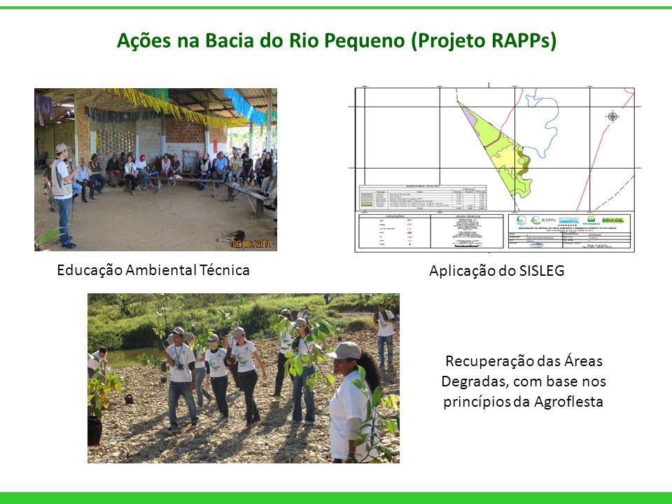 Ações na Bacia do Rio Pequeno (Projeto RAPPs)
