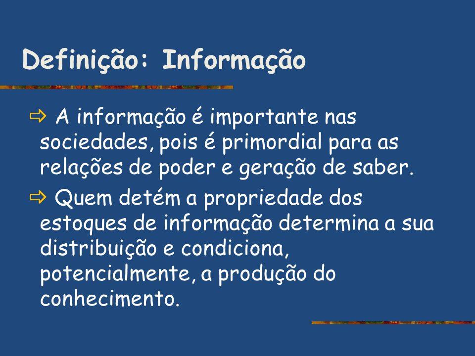 Definição: Informação