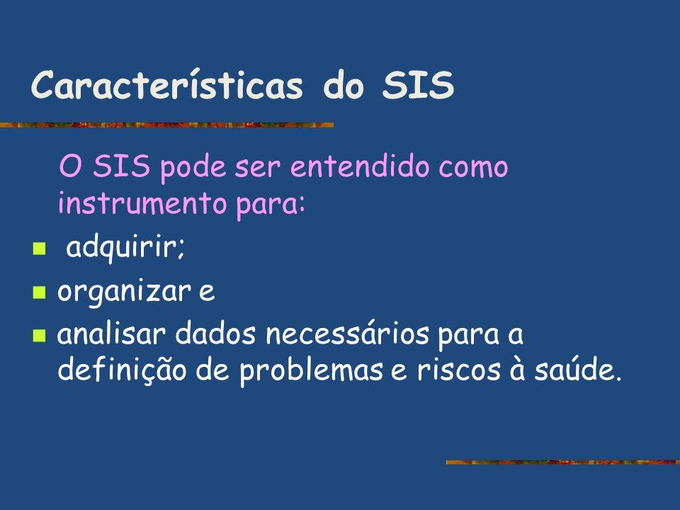 Características do SIS