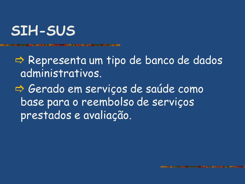 SIH-SUS