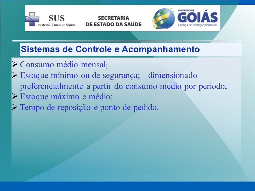 Sistemas de Controle e Acompanhamento