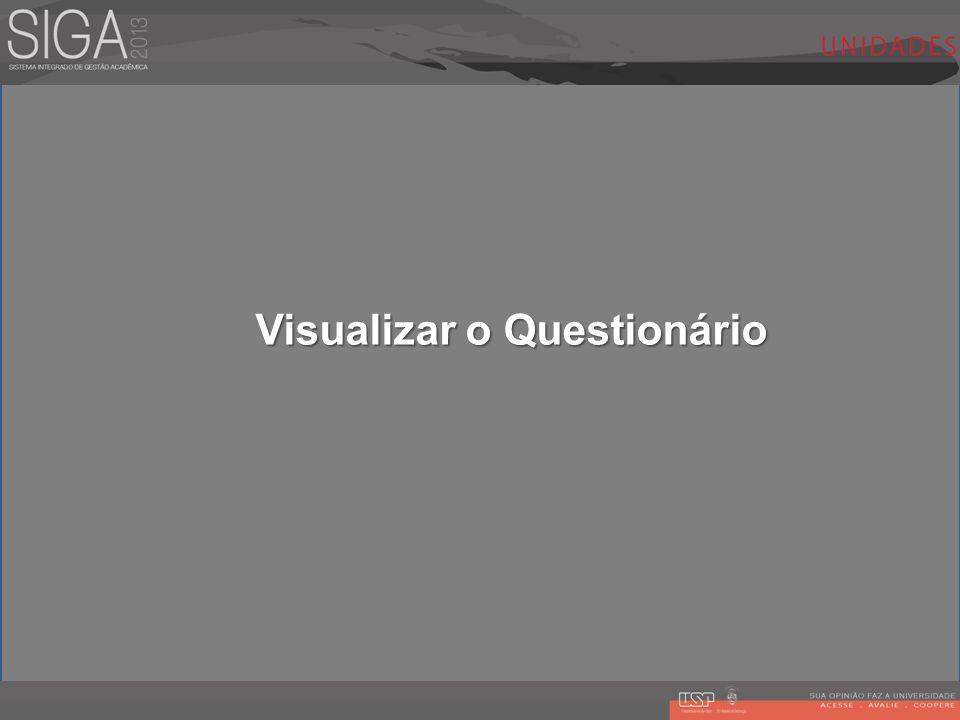 Visualizar o Questionário