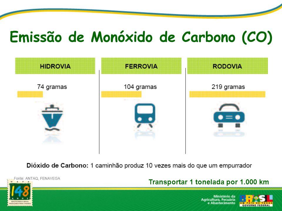 Emissão de Monóxido de Carbono (CO)