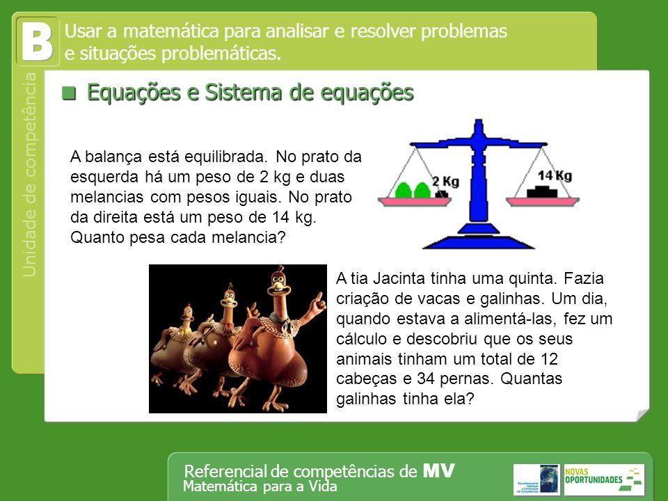 B  Equações e Sistema de equações