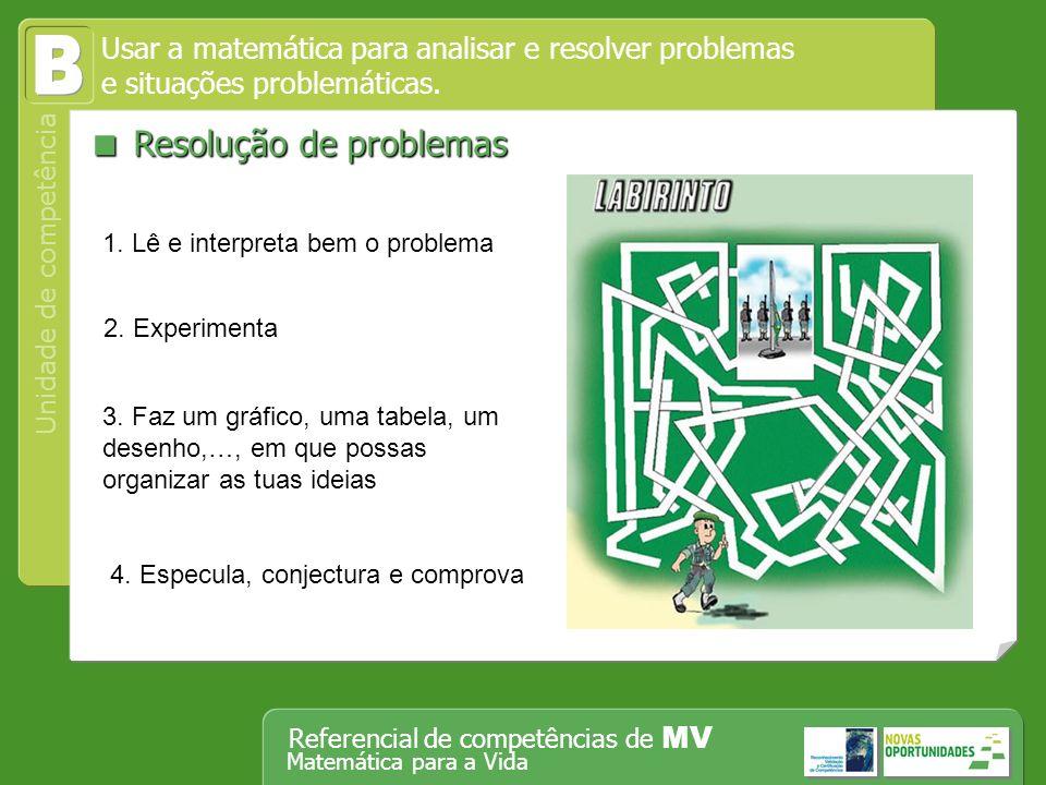 B  Resolução de problemas