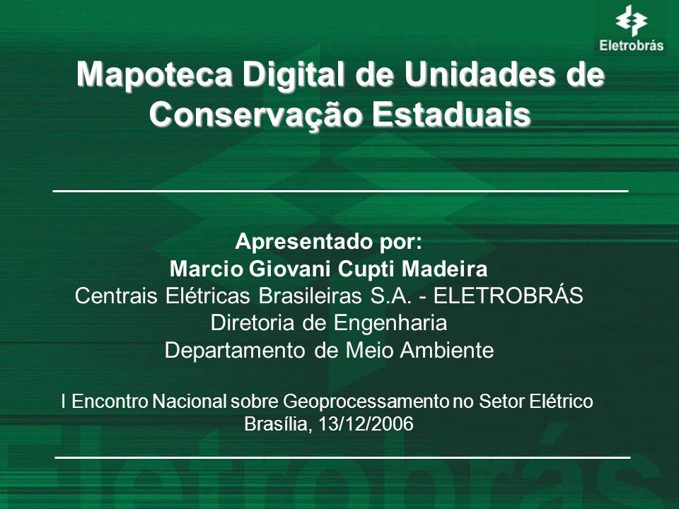 Mapoteca Digital de Unidades de Conservação Estaduais