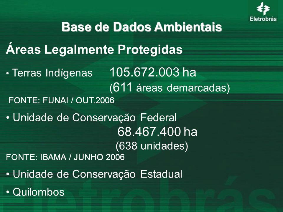 Base de Dados Ambientais