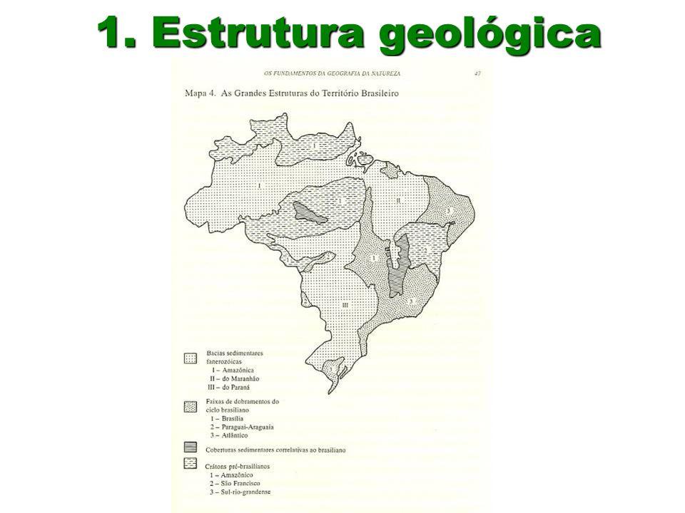 1. Estrutura geológica