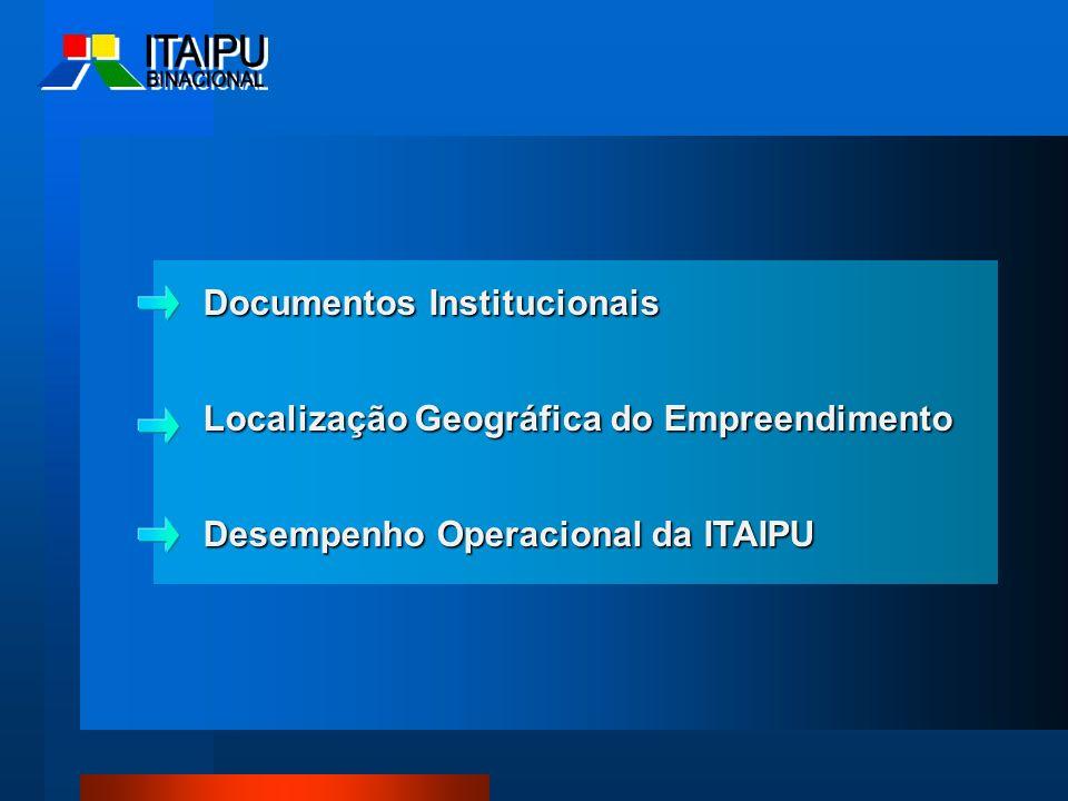 Documentos Institucionais Localização Geográfica do Empreendimento
