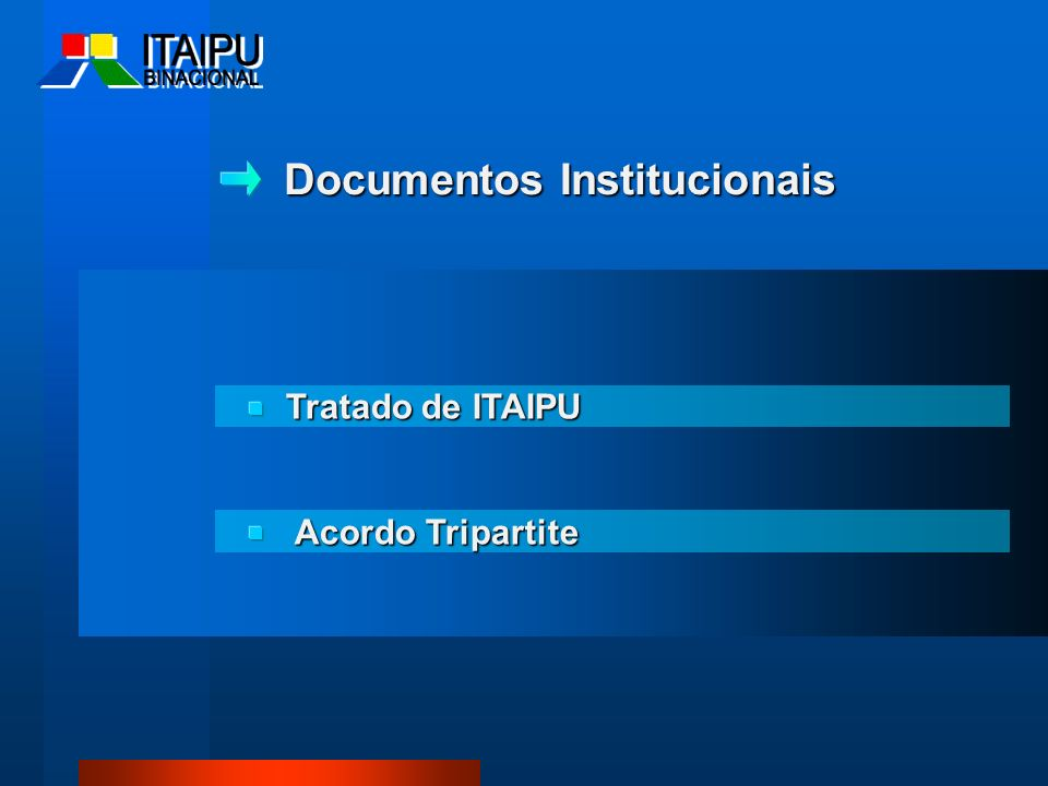Documentos Institucionais