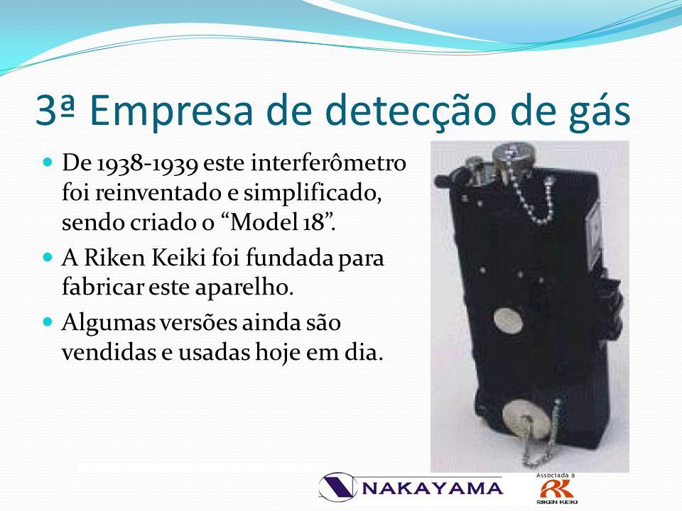 3ª Empresa de detecção de gás