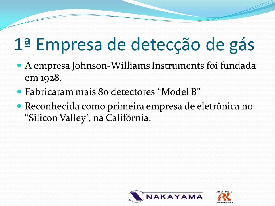 1ª Empresa de detecção de gás