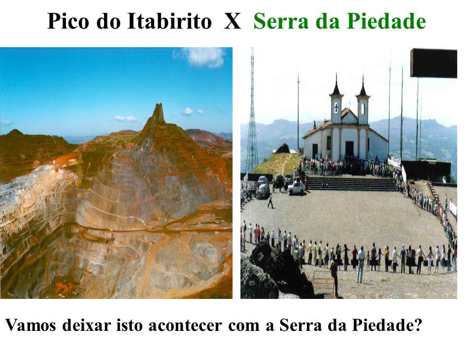 Pico do Itabirito X Serra da Piedade